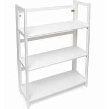 Nathan Folding 3-Shelf 38 Standard Bookcase by Andover Mills