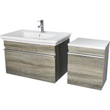 "Lakeside 31.5"" Single Wall Mounted Vanity Set"