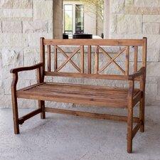 Merriam Folding Acacia Wood Garden Bench