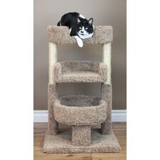 """New Cat Condos Round 33"""" Triple Cat Perch"""
