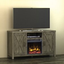 """Dodson 53"""" TV Stand with Electric Fireplace"""