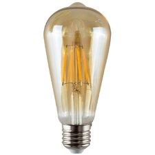 4W Amber LED Vintage Filament Light Bulb