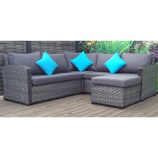 Gabrielle Sectional Sofa with Cushions