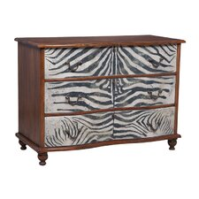 Bonsall 3 Drawer Accent Chest by World Menagerie