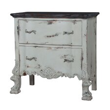 Blanford 2 Drawer Accent Chest by One Allium Way