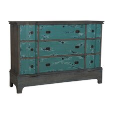 Mahala 9 Drawer Accent Chest by Bungalow Rose