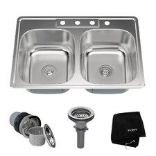kraus - Kitchen Sink Double