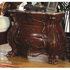 Adelia 3 Drawer Nightstand by Astoria Grand