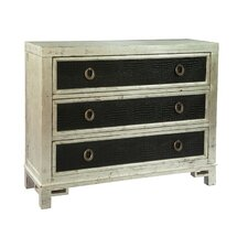 Hall 3 Drawer Accent Chest by Hekman