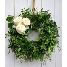 Classic Rose 42cm Ornament Wreath