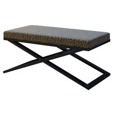 Ahumada X-Base Solid Upholstered Bedroom Bench by Everly Quinn