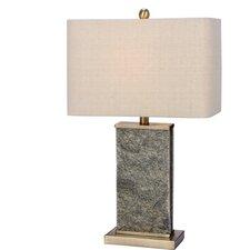 "Bellingham Stone & Metal 26"" Table Lamp"