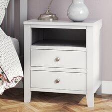 Kingsbridge 2 Drawer Bedside Table
