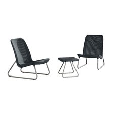 Cater All Weather 3 Piece Lounger Seating Set