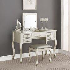 Carressa Vanity Set with Mirror