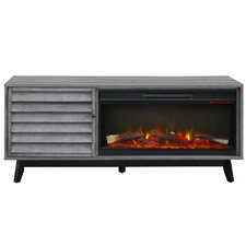 """Williamstown 62"""" TV Stand with Electric Fireplace"""
