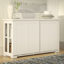 South Miami Server with Wood Doors