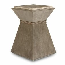 Albright Gray End Table by Everly Quinn