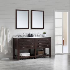 Harry 60 Double Bathroom Vanity Set by Ove Decors