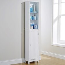 Turku 34 x 165.5cm Free Standing Tall Bathroom Cabinet
