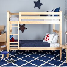 Solid Wood Twin Bunk Bed