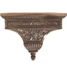 Bronze Rectangle Floating Shelf by Astoria Grand