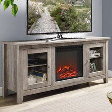 """Riverwoods 58"""" TV Stand with Electric Fireplace"""