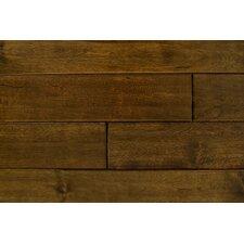 """4.75"""" Solid Walnut Hardwood Flooring in Medium Walnut"""