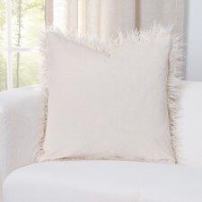 Leblanc Faux Fur Throw Pillow