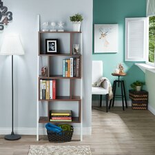 "Bostic 71"" Leaning Bookcase"