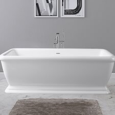 Florence 69 x 32 Freestanding Soaking Bathtub by Maykke