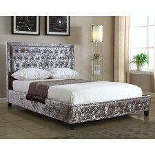 Napoli Crushed Velvet Upholstered Bed Frame