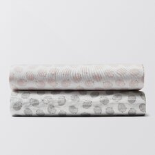 Hedgehog Printed 200 Thread Count 100% Cotton 3 Piece Sheet Set