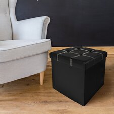 Watkins Collapsible Tufted Storage Ottoman by Winston Porter