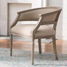 Outen Upholstered Barrel Chair by Lark Manor