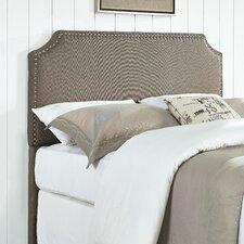 Luna Nail Trim Upholstered Panel Headboard