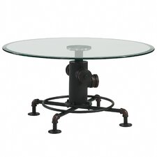 Kailey Metal Pipe Style Coffee Table by Williston Forge