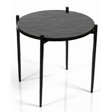 Mcneil High Horn End Table by Union Rustic