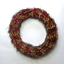 Twiggy 40cm Chilli Wreath