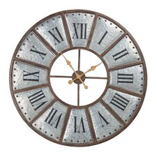 "Oversized Verona Iron 39.4"" Wall Clock"