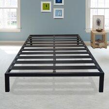 Brandt Black Metal Platform Bed Frame