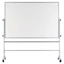 "Remarkaboard Aluminum Trim Reversible Whiteboard, 48"" x 72"""
