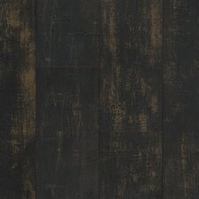 "Architectural Remnant Antique Structure 4.92"" x 47.84"" x 12mm Luxury Vinyl Plank in Black Paint"