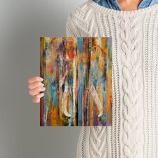 'Elephant' Painting Print on Wrapped Canvas