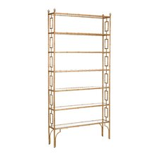 Hinckley Slim 85 Etagere Bookcase by Everly Quinn