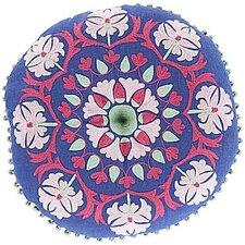 Marrakesh Embroidered Linen Pillow
