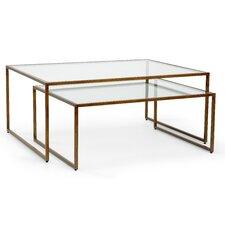 Holle 2 Piece Nesting Coffee Table Set by Brayden Studio