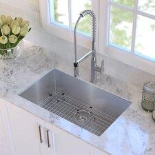 """30"""" x 18""""  Undermount Kitchen Sink"""