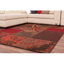 Teppich Moua in Rot