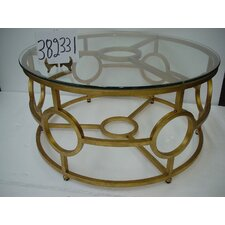 Sweetwood Circular Coffee Table by Rosecliff Heights